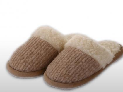 Foto Našuchovacie papuče kombinované / protišmyková podrážka
