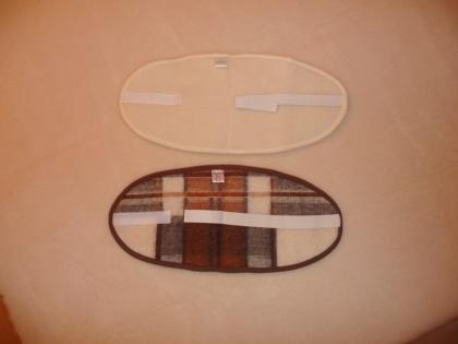 Foto Ľadvinový pás XL jednovrstvový s gumou a suchým zipsom